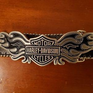 Harley Davidson womans belt large.